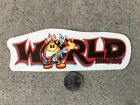 NEW WORLD INDUSTRIES VINTAGE RARE SKATEBOARD SKATE STICKER COLLECTORS
