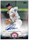 2018 Topps Update Salute Red Parallel Auto Alex Rodriguez Rangers 3 5 Jersey #!