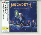 MEGADETH Rust In Peace JAPAN CD TOCP-3029 1995 NEW s6102
