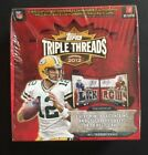 2012 Topps TRIPLE THREADS Sealed Football Hobby Box Andrew Luck Rc Auto Wilson
