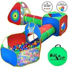 Boys Kids Ball Pit Play Tents  Tunnels Basketball Hoop Pop up FREE EXP SHIP