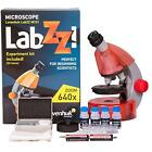 LabZZ Microscopes M101 Orange For Kids With Experiment Kit