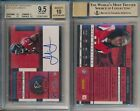Julio Jones FALCONS 2011 Playoff Contenders 221 Rookie Ticket rC BGS 9.5 Auto 10