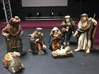 LARGE 7PC NATIVITY SET Figures are about 23 tall each