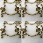8 heavy bale pull polished handle solid brass vintage style 8 cm old style bolt
