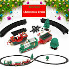 Traditional Around the Christmas Tree Train Set Decoration Music Sound