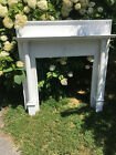 Antique Fireplace Mantel with Fluted Columes