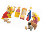 Nativity set for kids Scene Figurines Fit into any Display Stable or Creche