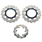 Front Rear Brake Disc Rotors for Aprilia ETV 1000 CAPONORD 01-07 Rally Raid ABS