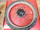 1983 HONDA XL100S FRONT WHEEL AXLE     #1118