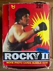 1978 Topps Rocky II Rematch Movie Trading Cards Box w 36 Wax Packs Stallone