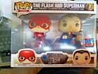 FUNKO POP THE FLASH AND SUPERMAN JUSTICE LEAGUE RACE FALL CON EXCLUSIVE