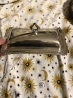 antique silver butter dish