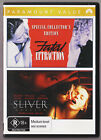 LIKE NEW, Fatal Attraction / Sliver (2-Movie Collection) Dvd 2-Disc Set R4