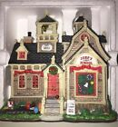 "Lemax Village Collection Hillside School #25342 Lighted Building ""Jone's school"""