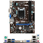 For MSI H81M P33 Intel Socket LGA 1150 Micro ATX PC Motherboard DDR3 Placa Madre