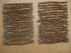 40 PIECES OF RUSTY CHAIN STEAMPUNK INDUSTRIAL ART YARD ART