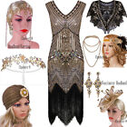 1920s Flapper Dresses Vintage Style Great Gatsby Party Christmas Costumes XS XXL