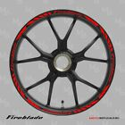 HONDA FIREBLADE wheel decals tape stickers cbr1000rr Reflective 17 rim stripes
