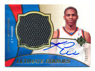 2008-09 ULTIMATE RUSSELL WESTBROOK RC JERSEY AUTO AUTOGRAPH THUNDER SP #102 150