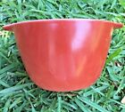 Anchor Hocking Fire King Oven Proof Rust Cinderella Mixing Bowl RARE Vintage HTF