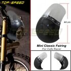 Motorcycle Classic Headlight Fairing Screen Windshield For YAMAHA BMW Cafe Racer