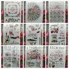 Herbs Garden Lady Words A4 Craft Layering Stencils Painting Scrapbook Template
