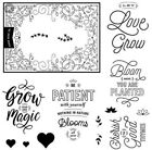 Close To My Heart S1801 Bloom  Grow Stamp Of The Month NIP