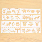 8pcs Stencils Embossing Scrapbooking Craft Layering Painting Template Art Decor