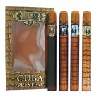 Cuba Prestige by Cuba 4 Piece Variety Gift Set for Men NEW IN BOX
