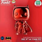 Funko Pop! Red Chrome Batman Funko Shop 12 Days of Christmas CONFIRMED Order