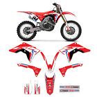 Honda  CRF 250R 250 R  GRAPHICS KIT FITS   2018   DECO DECALS STICKERS