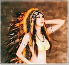 Feather Headdress Feather Hat Chief Indian Headdress American Native Warbonnet L