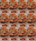 MATCHBOX 68 BMW M5 Fire Chiefs Car 2018 issue  LOT of 12x NEW in BLISTERS