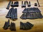 Lot Of 94+ antique lag bolts square head screws vintage aged patina  Un-Used ?