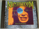 Mindstorm - Back to Reality - RARE '91 cd MINT Rush
