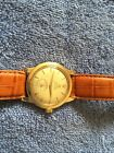 1 MENS. WATCH OMEGA SEAMASTER AUTOMATIC 14K GOLD FILLED 17 JEWELS SWISS