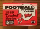 1989 Topps Football Traded Complete Factory Set - Barry Sanders, Aikman RC