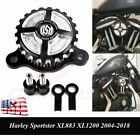 Air Cleaner Intake Filter Kit For Harley Sportster XL 883 1200 2004 2018 2017 US