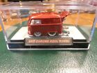 HOT WHEELS RALPHS CUSTOMS VW KOOL KOMBI RED ON CHROME WHITE WALL RR