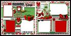 Santa Time12in x12in DIGITAL PRINT Pre made Scrapbook Pages Olivia Pieces