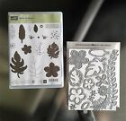 NEW Stampin Up BOTANICAL BLOOMS Stamp Set + BUILDER Framelits Dies Flowers RETIR