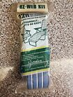 Mid century blue re-web kit for outdoor lounge chair or standard chairs NEW