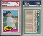 Comprehensive Guide to 1960s Mickey Mantle Cards 133
