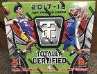 2017 18 Panini Totally Certified Basketball Factory Sealed Hobby Box. NEW!