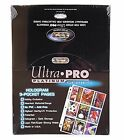 Ultra Pro 9-Pocket Trading Card Pages Storage- Platinum Series (100 Pages) Clear