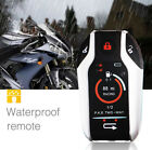 Two way anti theft Alarm System Remote Engine Start Stop Remote Locating 300M
