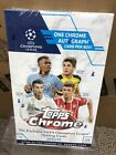2017-18 Topps Chrome UEFA Champions League Factory Sealed HOBBY Box-AUTOGRAPH...
