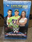 2018 Topps WWE Then Now Forever Wrestling Sealed Hobby Box with 2 Hits!