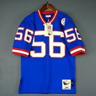 100% Authentic Lawrence Taylor Giants Mitchell Ness NFL Jersey Size Mens 40 M